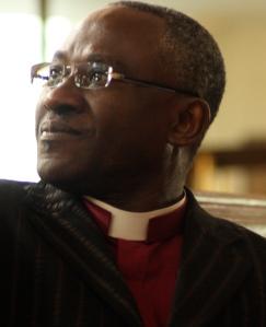 Apostle Williams at John Wesley's Church