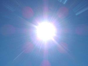light, sun